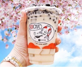 Sakura Milk Tea